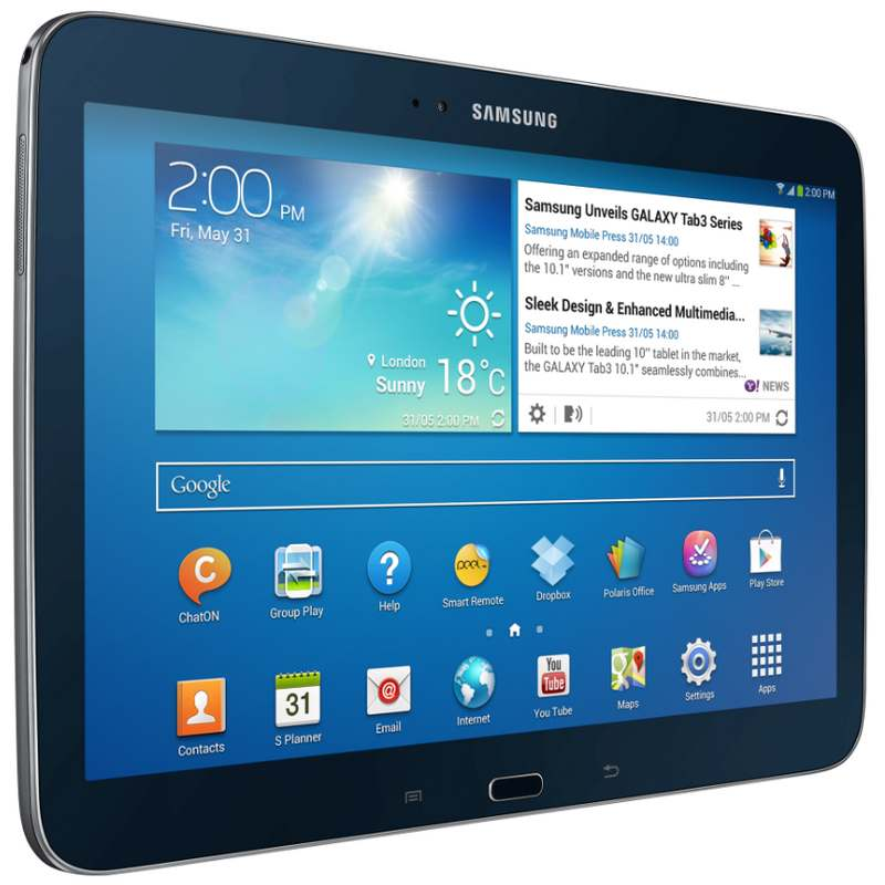 samsung galaxy tab 3 10 1 16gb negro tablet. Black Bedroom Furniture Sets. Home Design Ideas